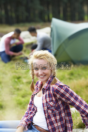 young, people, on, camping, trip, in - 19407766