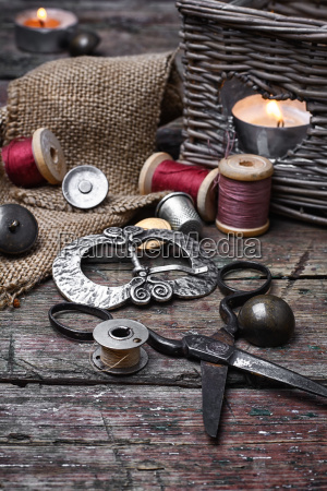 banner, with, large, set, of, threads - 19408452
