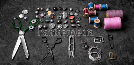 banner, with, large, set, of, threads - 19408460
