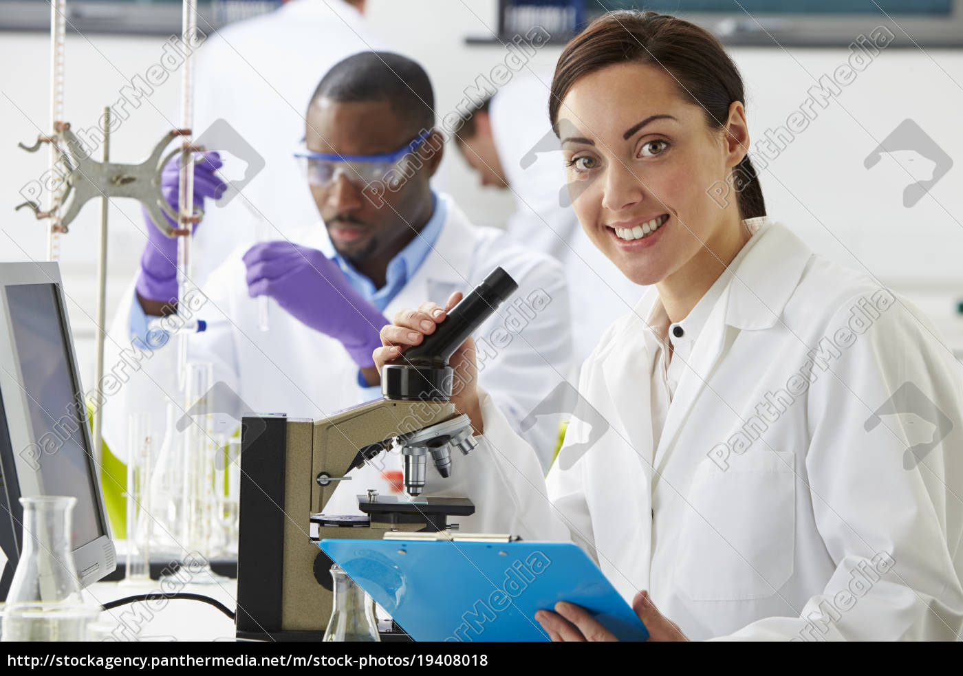 technicians, carrying, out, research, in, laboratory - 19408018