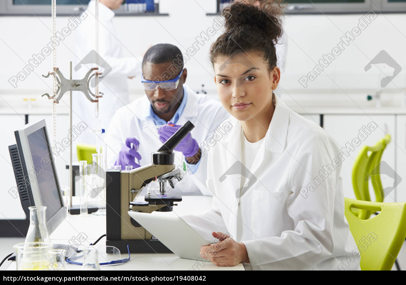 technicians, carrying, out, research, in, laboratory - 19408042