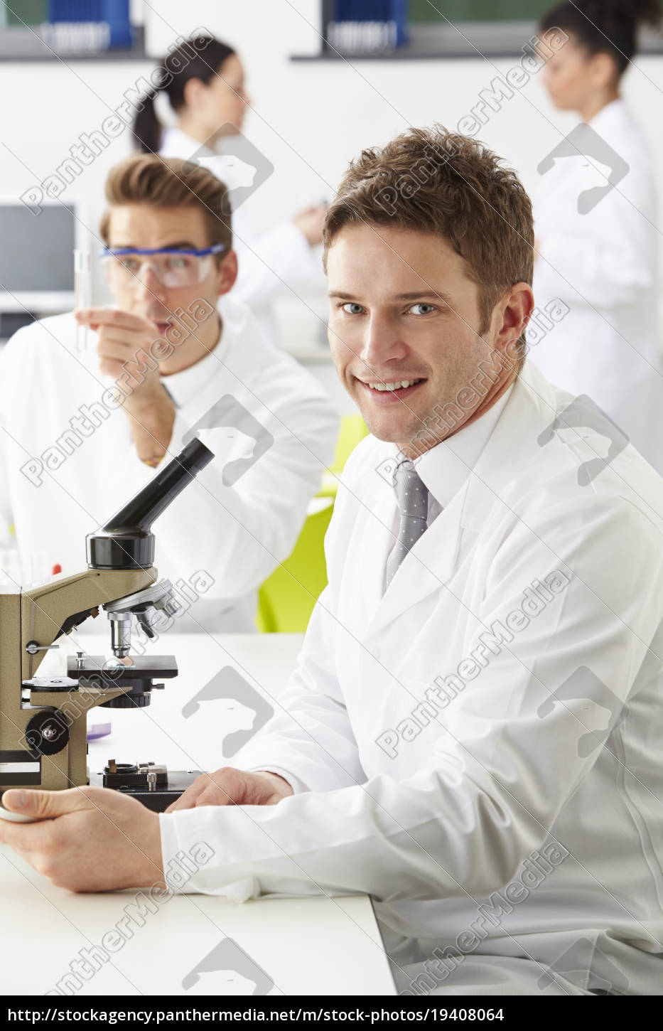 technicians, carrying, out, research, in, laboratory - 19408064