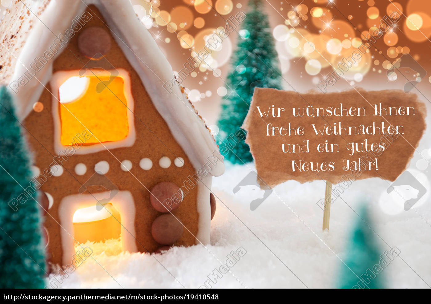 gingerbread, house, , bronze, background, , frohes, neues - 19410548