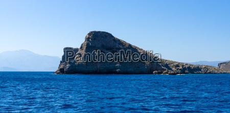 mediterranean, sea., crete., greece., the, cliffs - 19410188