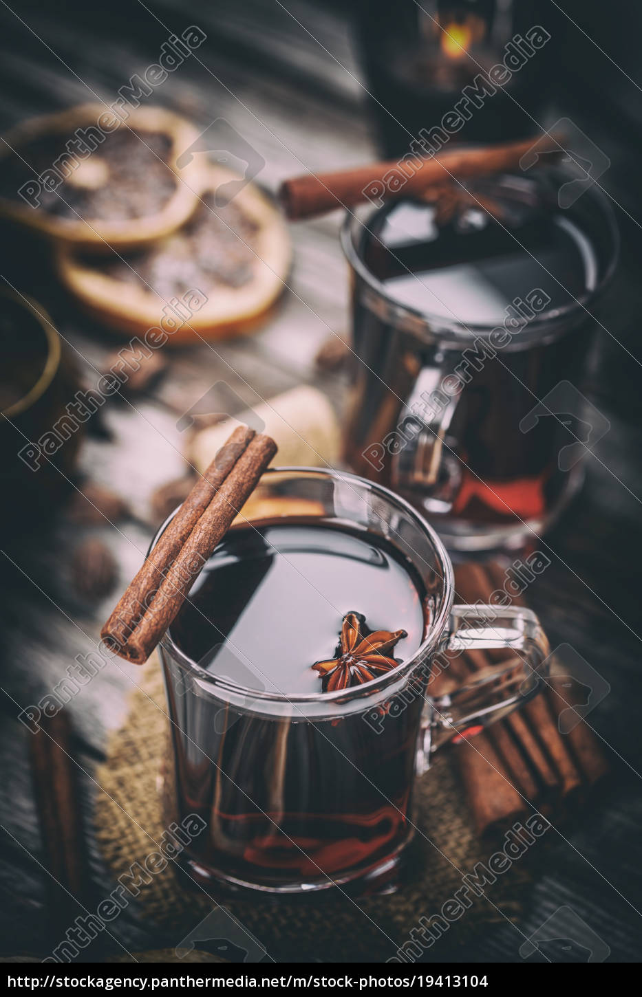 hot, mulled, wine - 19413104