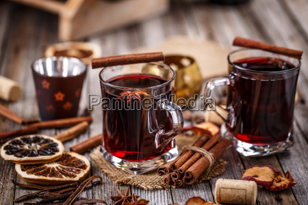 hot, mulled, wine - 19413116