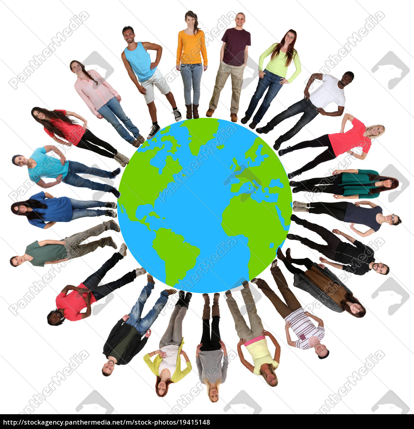 people, earth, earth, environmental, protection, multicultural - 19415148