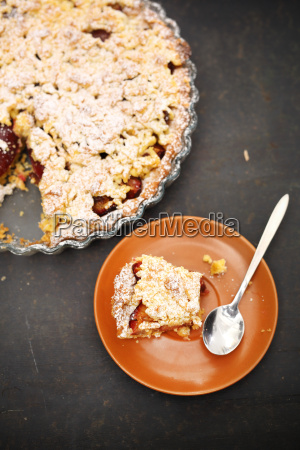 homemade, cake, with, fruit. - 19418610