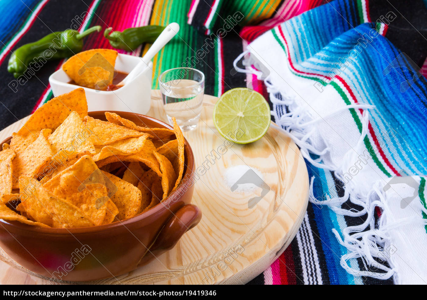 nachos, chips, tequila, lime, and, salt - 19419346