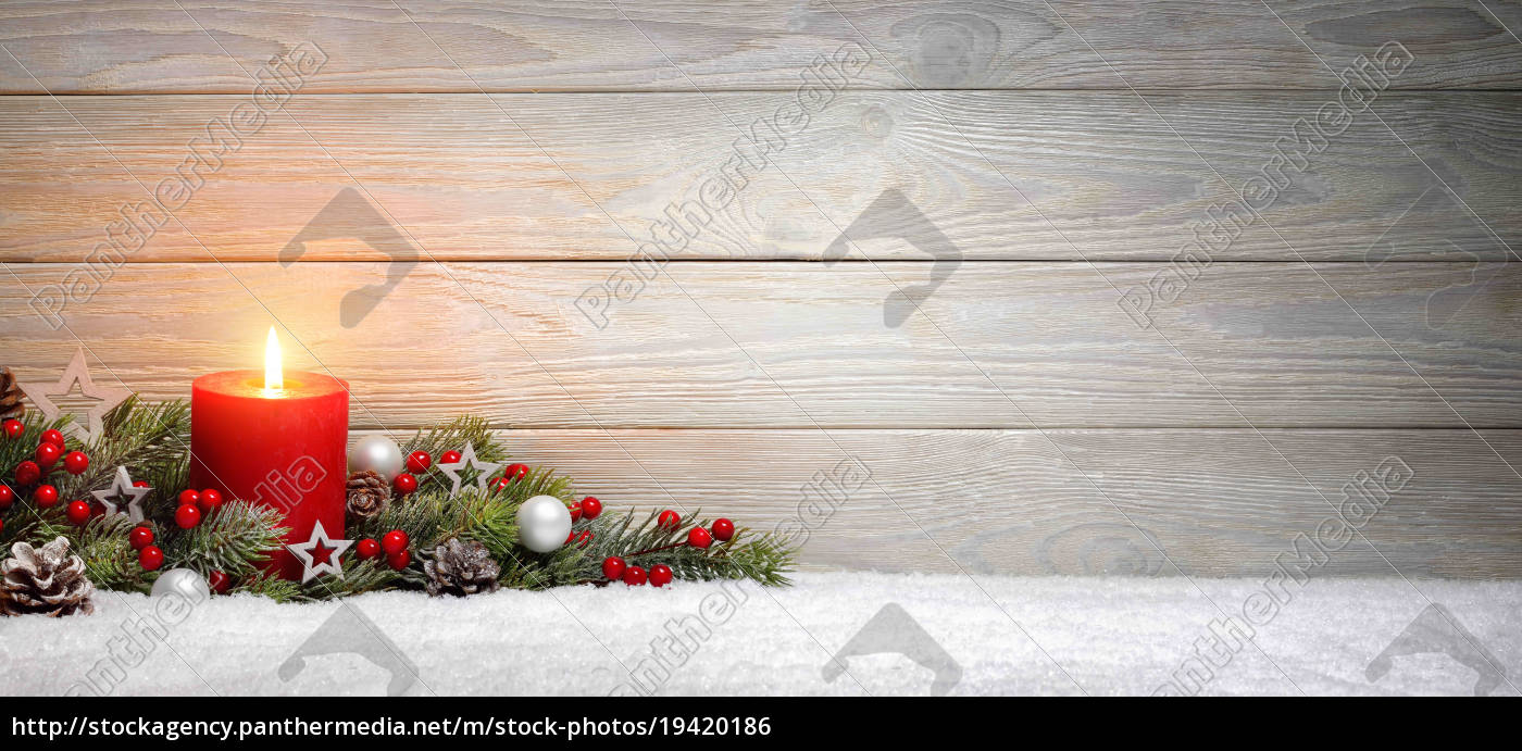 christmas, or, advent, background:, wood, a, candle - 19420186