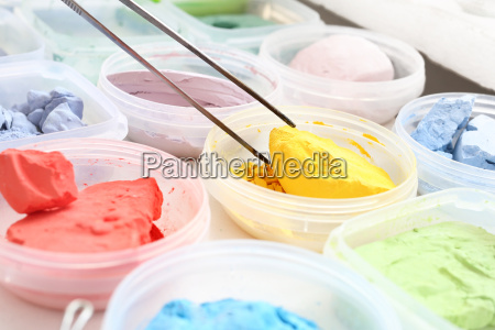 pigments painting
