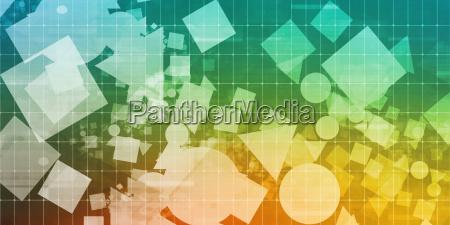 technology pattern background