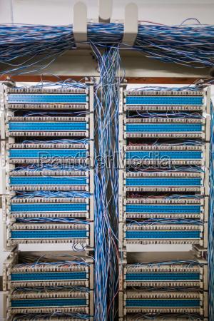 telephone exchange detail