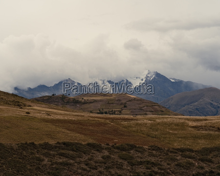 view of landscape and mountains maras