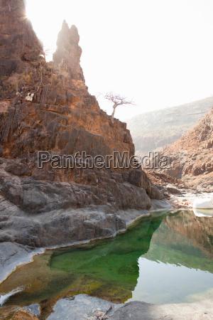 wadi dirhir a fresh water spring