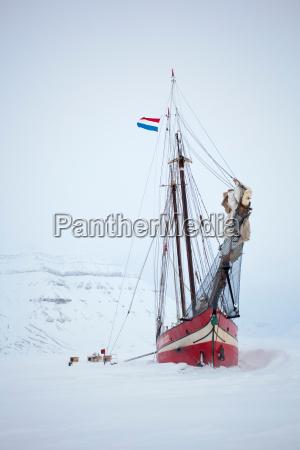the noorderlicht a dutch schooner each