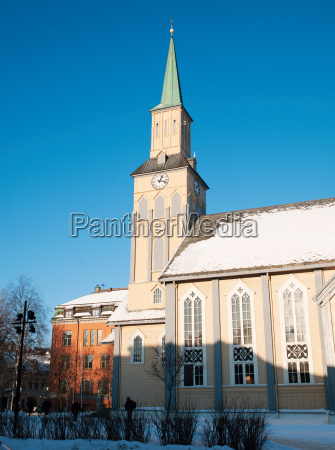 the tromso cathedral built in 1861