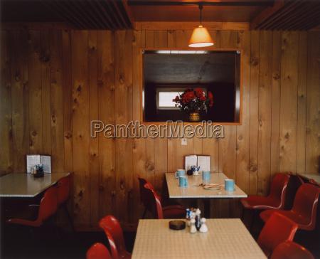 roadside cafe interior