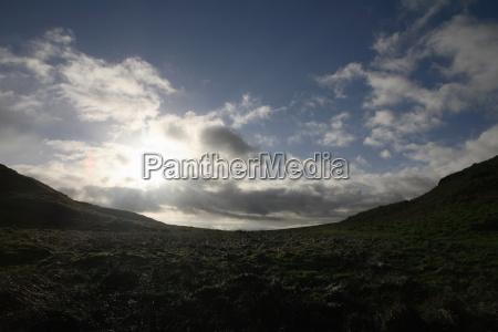 valley northumberland england uk