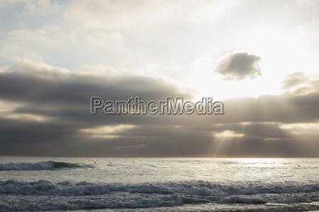 seascape and sunbeam san diego california