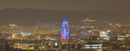 panoramic view of cityscape and torre