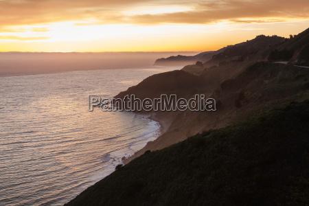 big, sur, national, park, at, sunset, - 19512230