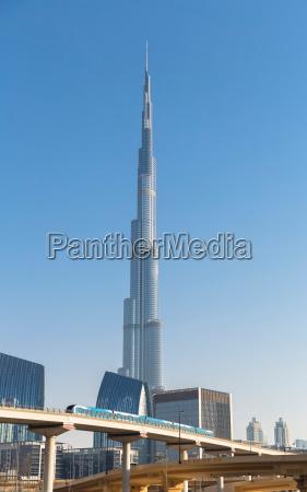 burj khalifa in dubai united arab