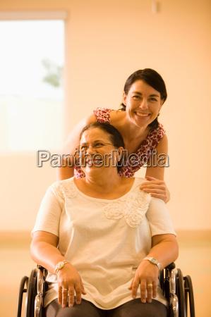 patient in nursing home