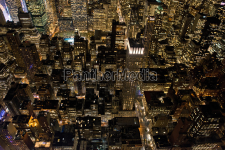 view from empire state building manhattan