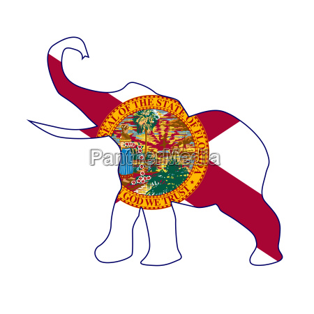 florida republican elephant flag