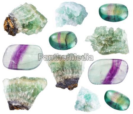 various, fluorite, crystals, , rocks, and, gemstones - 19558476