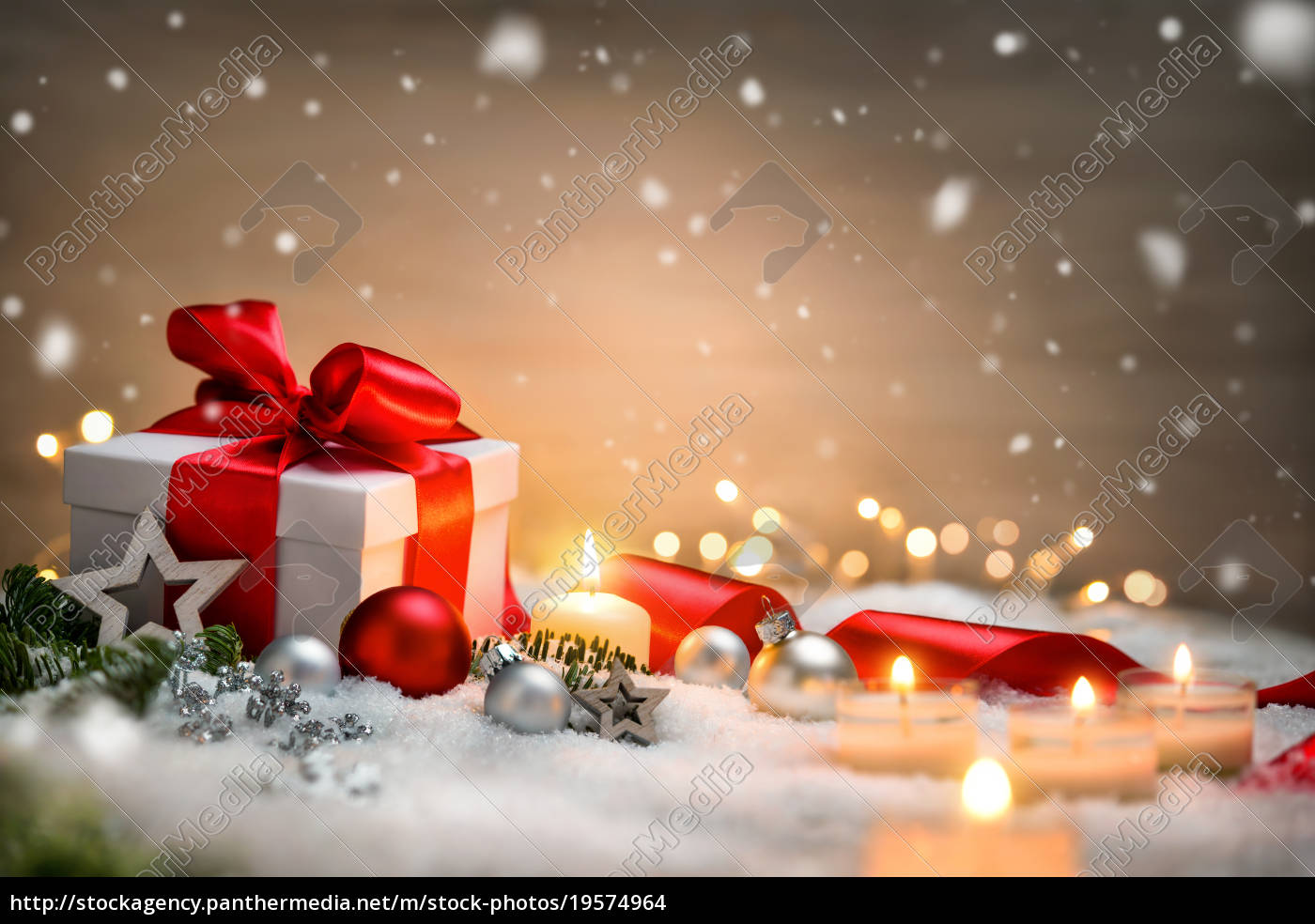 christmas, background, with, gift, and, red - 19574964