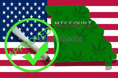 missouri on cannabis background drug policy