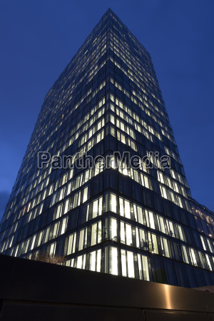 modern office building in munich germany