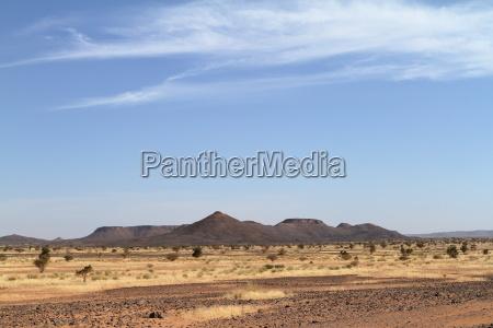 the sahara desert in sudan in