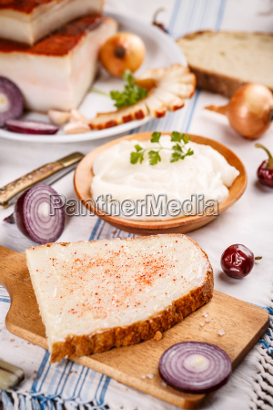 bread with lard