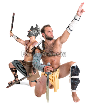 gladiatorsbarbarian warriors