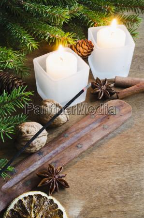 christmas background winter holidays festive evening