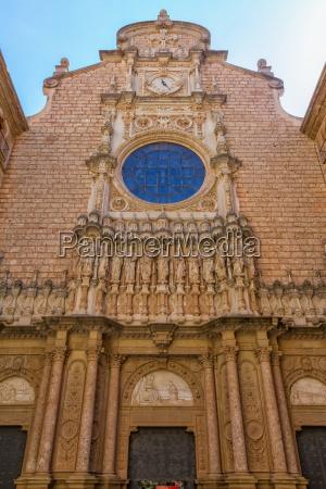 view of abbey of santa maria