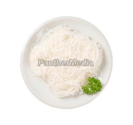 cooked rice noodles