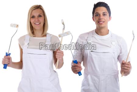 painter profession craftsman apprentice apprentice trainee