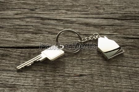 key with keyring house