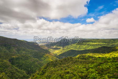 view from the gorges viewpoint mauritius