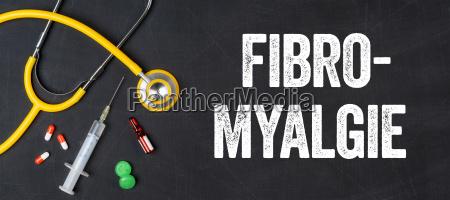 stethoscope and medicines fibromyalgia