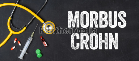 stethoscope and medicines crohns disease