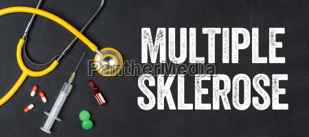 stethoscope and medicines multiple sclerosis