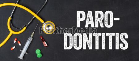 stethoscope and drugs periodontitis