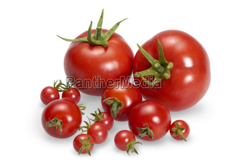 various red tomatoes