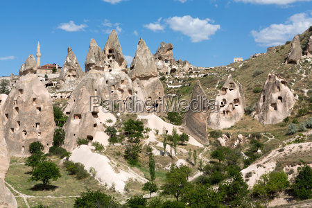 rock formations in goreme national park