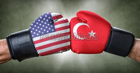 boxing match usa vs turkey